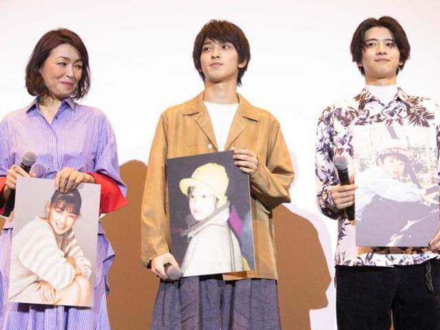 橫濱流星出席新片發布會公開兒時照片被指像女生