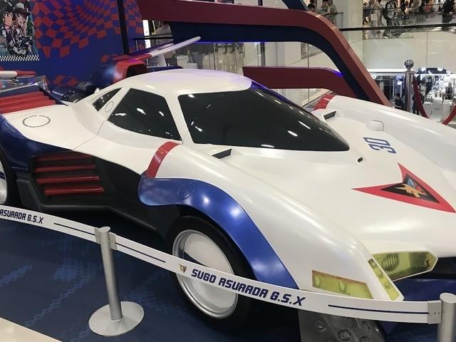 《閃電霹靂車》「阿斯拉」與「凰呀」實車模型 1 月 25 日即將來台期間限定展出