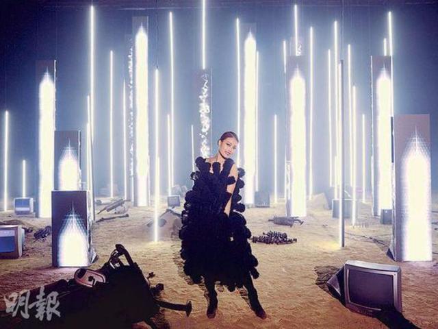 容祖儿入行20年 出新歌著重量級戰衣拍MV