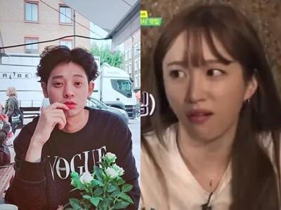 鄭俊英得意「頭小像花生」 Hani秒傻眼「單手碎花生」影片瘋傳...網:好療癒