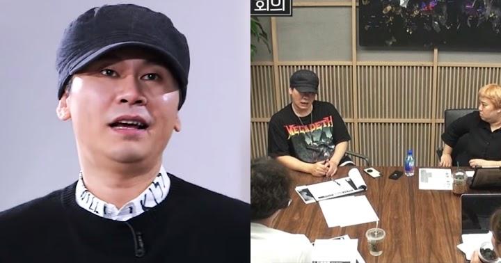 YG代表還是梁鉉錫! 「股東大會只開15分鐘」⋯網全傻眼:以為會見證歷史