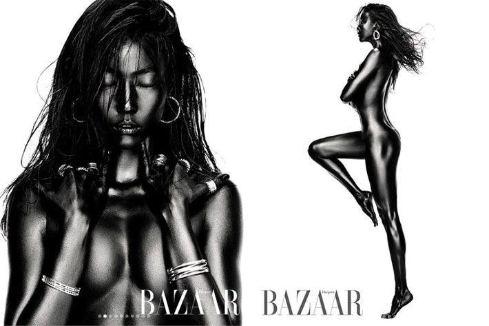 頂尖超模20年! 35歲韓惠珍全裸上陣「豐臀蜂腰」韓網震撼