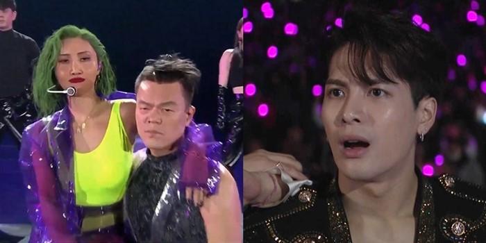 「塑膠透視裝」熱舞王嘉爾「張嘴看傻眼」! 釣出社長JYP問:我做錯什麼了嗎