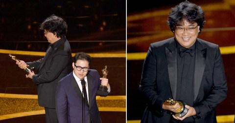 忘了直播ing⋯ 《寄生上流》導演得獎「表情三部曲」全球都看到了