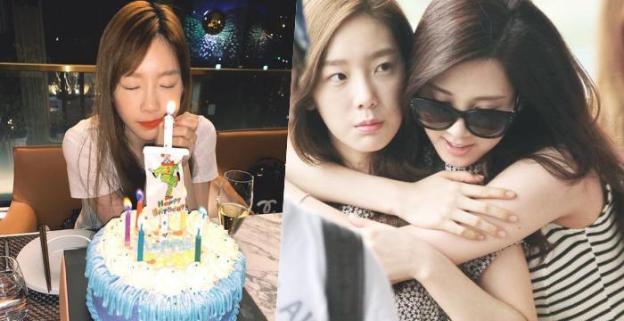 太妍31歲生日「還好提前過了」 少時成員湧入:未來每個生日都一起過